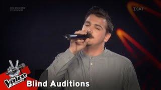 Chris Brian Karakasidis -  The Kill (Bury Me)   7o Blind Audition   The Voice of Greece