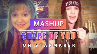 Download Shape of You - Ed Sheeran - StarMaker #MASHUP! 3Gp Mp4