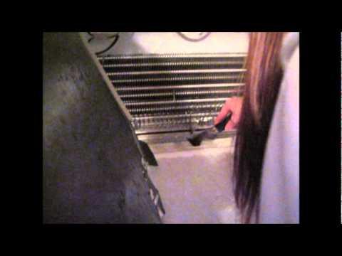Unclog Frozen Drain Tube Roper Refridgerator Wmv Youtube
