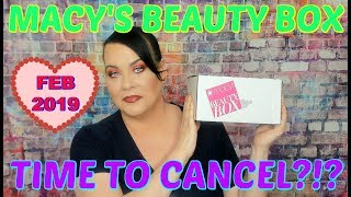 Macy's Beauty Box Unboxing // February 2019 // What Do You Think Of This Box??