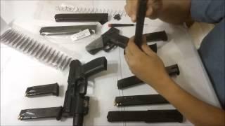 Taurus Millennium G2 PT 111 9mm 30rd Mag Dual Wielding Guns