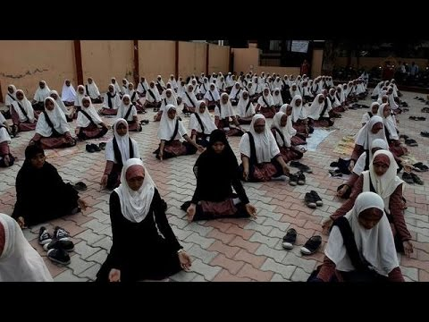 India gears up for International Yoga Day