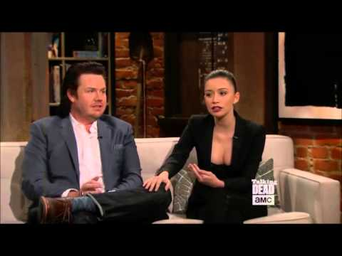 Talking Dead - Christian Serratos on the biggest prankster