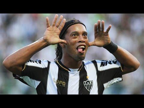 Ronaldinho Gaúcho - Despedida do Atlético MG - Esporte Espetacular 03/08/2014