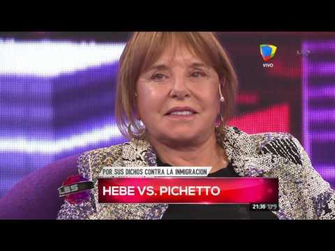 Hebe de Bonafini contra Pichetto: Si tenés pelotas, renunciá