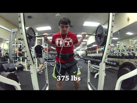 Road To Nationals - Heavy Squats Image 1
