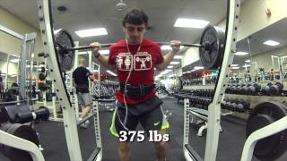 Road To Nationals - Heavy Squats