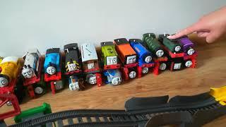 Tomek i przyjaciele Wielki Pokaz Kolejowy konkurs zderzeń /Thomas and friends The Great Railway Show