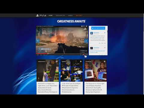 Playstation 4 Web Browser