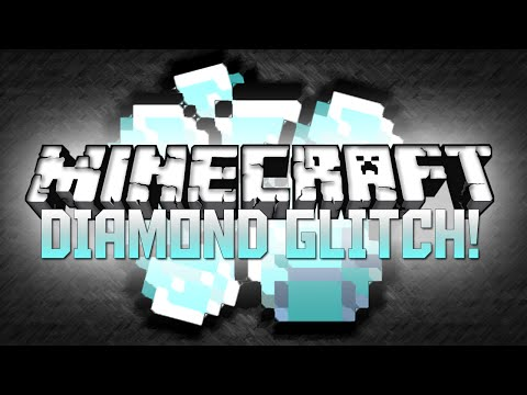 Minecraft: INFINITE DIAMOND GLITCH! (Minecraft Glitch Tutorial)