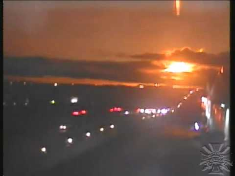 Meteor lights up sky in South Africa [both angles]