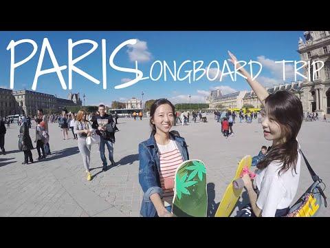 Longboard Dancing Trip Paris_  Hyojoo & Moonhee 19 - 22 Sep 2015