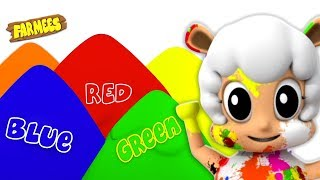 Colors Song for Kids | Nursery Rhymes & Learning Videos by Farmees