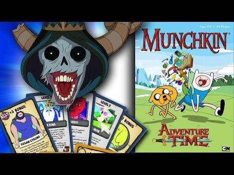 Adventure Time Munchkin - Battle The Lich
