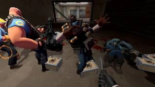 Team Fortress 2 - Backstab Death Animations