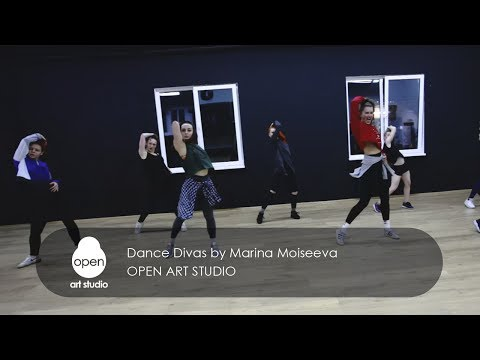 Ray BLK - Chill Out ft. SG Lewis - Dance Divas by Marina Moiseeva - Open Art Studio