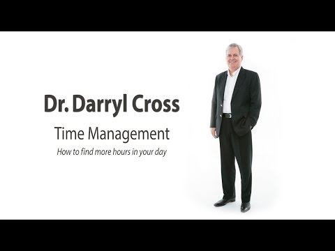 Darryl Cross - Time Management