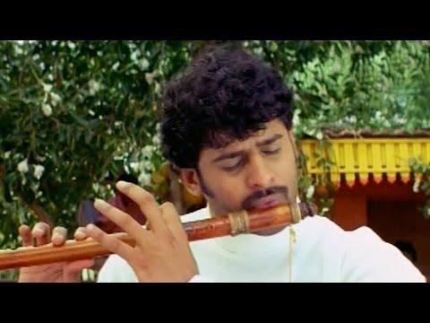 Pournami Best Flute Music Scene - PrabhasTrisha Charmi