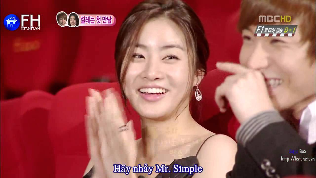 Leeteuk and Kang Sora WGM with eng sub  YouTube