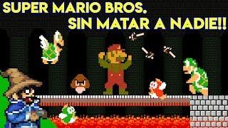 Desafío Pacifista en Super Mario Bros (Sin Matar, Sin Monedas, Sin Items) - Pepe el Mago Juega