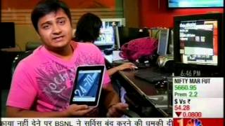 21st March 2013 -KarbonnMobile (SMART TAB 8) -TechGuru- CNBCAwaaz
