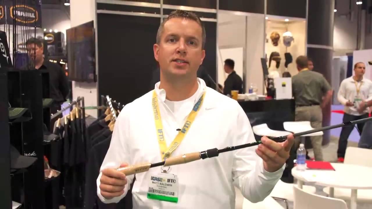 New 13 fishing omen envy green rods icast 2013 youtube for 13 fishing omen green