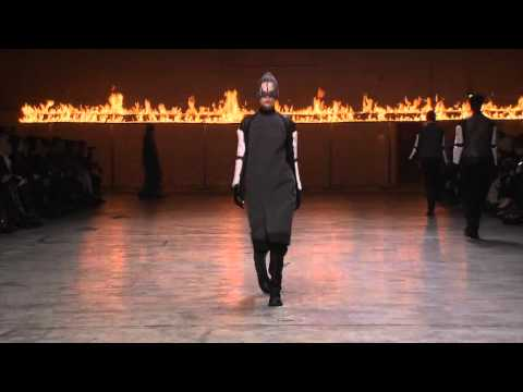 Paris Fashion Week: Rick Owens FW 2012/2013 Show