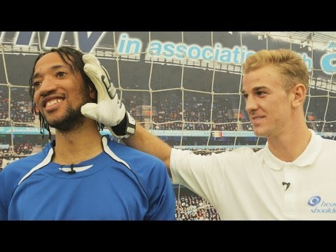 Hands On With Joe Hart - 'Zlatan Read me Like a Book'