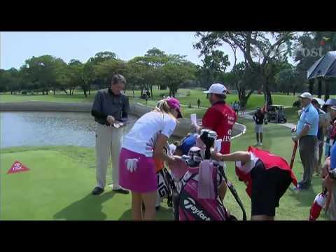HSBC Womens Championship Singapore Last Holes
