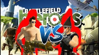 Battlefield Heroes MustangtoGunner vs Mechanich