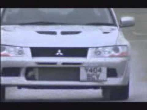 top gear mitsubishi lancer evolution 7 compar subaru. Black Bedroom Furniture Sets. Home Design Ideas