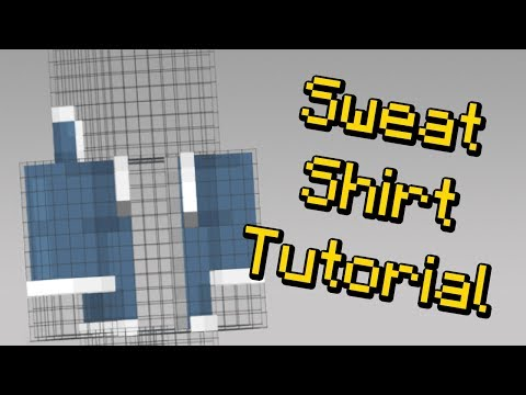 How to Make a Sweatshirt on Your Minecraft Skin