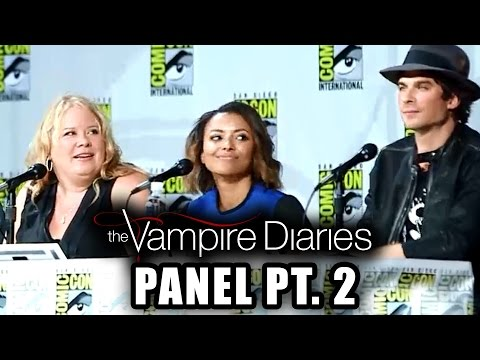 The Vampire Diaries Panel Part 2 - Comic-con 2014 video