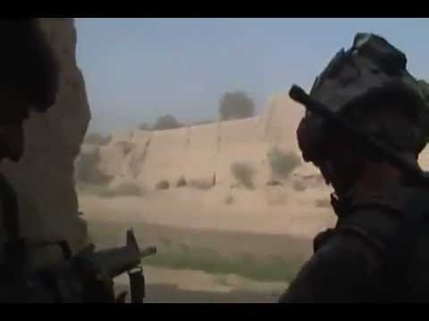 U.S. Army Soldiers Come Under Intense Fire In Kandahar Province, Afghanistan