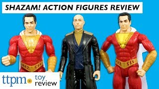 Shazam! Action Figures from Mattel