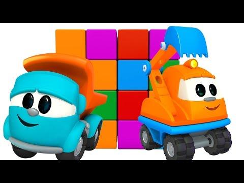 Развивающий мультфильм для детей - Малыш Грузовичок Лева и Капу