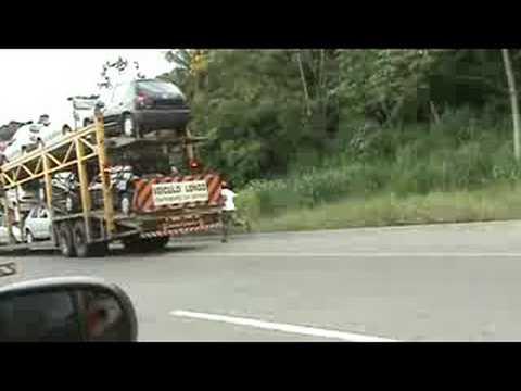 Acidente BR 116 Caminhão Pegando Fogo