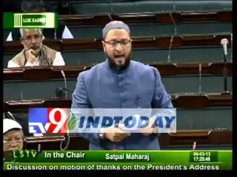 Asaduddin Owaisi raises Afzal Guru hanging issue in Parliament