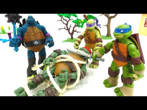 Черепашки-Ниндзя - Рафаэль против Слэша! Игры для мальчиков