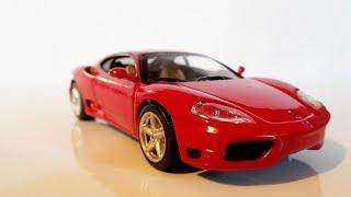 Cars Collection. Ferrari Modena 360. И чуть-чуть Hot Wheels.