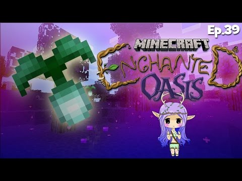 ethereal Blooms And A Guest! Minecraft Enchanted Oasis Ep 39 video