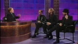 The Bee Gees walk out of CLIVE ANDERSON TALKS BACK (BBC1, 30th October 1997)