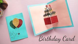 DIY Pop-up Birthday Card   Card Making   Handmade Card