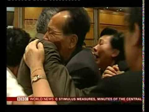 North and South Koreans hold family reunions after decades