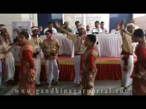 National Integration Camp 2012:- Bihu Performance