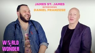James St. James & Daniel Franzese on Body Positivity, HBO's Looking and HIV Awareness