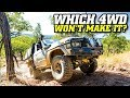 Cape York's BRUTAL Old Coach Road • Which 4x4 is towed away?!
