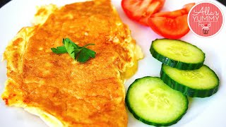 How to make Cheese Omelette - Как приготовить омлет с сыром