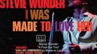 Watch Stevie Wonder A Fool For You video