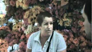 entrevista a vendedora de flores artificiales 1 parte.